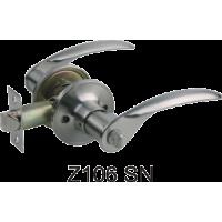 Ручка дверная Z106SN (хром матовый) без фиксатора