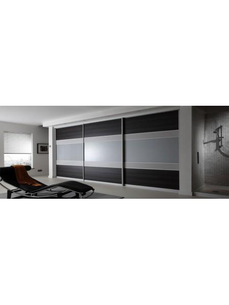 Раздвижная алюминиевая система межкомнатной двери ALUMA (образец 13)