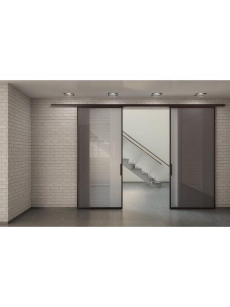 Раздвижная алюминиевая система межкомнатной двери ALUMA (образец 19)