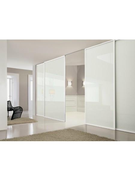 Раздвижная алюминиевая система межкомнатной двери ALUMA (образец 22)