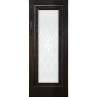 Межкомнатная дверь ПВХ 21-65 Дуб Тёмный