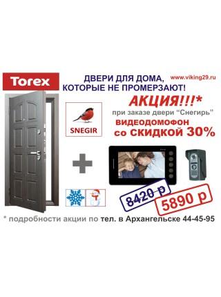 Входная дверь Торэкс Snegir 60 STEL