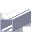 Направляющая рельса для раздвижных дверей (L-3 метра)
