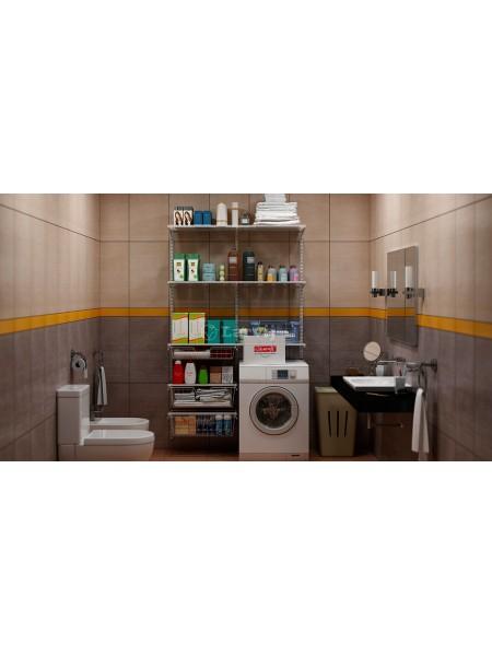 Стеллажная система для ванной комнаты