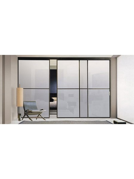 Раздвижная алюминиевая система межкомнатной двери ALUMA (образец 15)