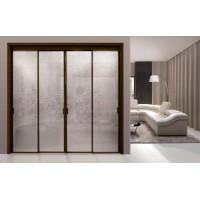 Раздвижная алюминиевая система межкомнатной двери