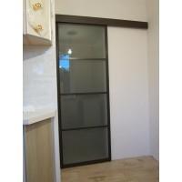 Раздвижная алюминиевая дверь