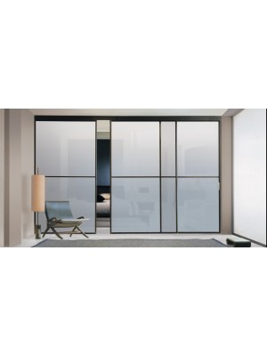 Раздвижная алюминиевая система межкомнатной двери ALUMA (образец 6)