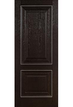Межкомнатная дверь ПВХ 21-61 Дуб Тёмный