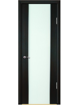 Межкомнатная дверь Триплекс белое 2140 Венге