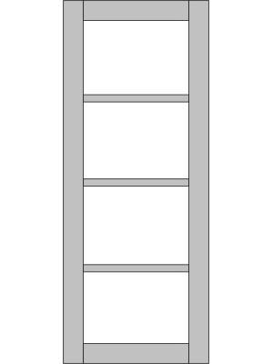 Межкомнатная дверь Variant Kvadro