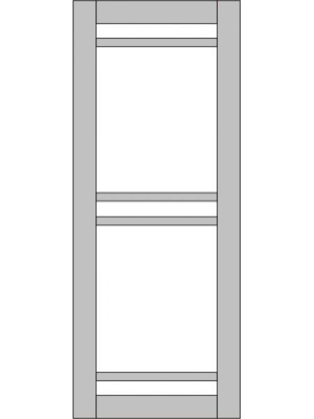 Межкомнатная дверь Variant Trio ПО