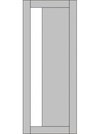 Межкомнатная дверь Variant Vertical 1