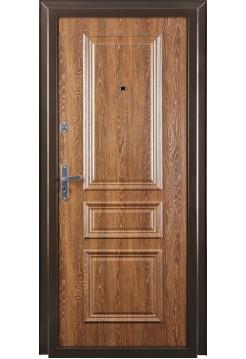 Входная дверь Валберг Прима Дуб Коньяк