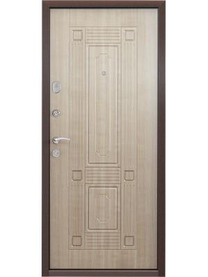 Входная дверь Торэкс SD Delta 07 СК4 ПВХ Венге светлое