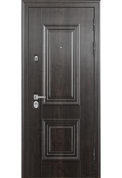 Входная дверь Торэкс Профессор-4 02PP 5D3/5D3 Дуб морёный