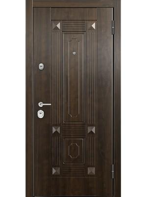 Входная дверь Торэкс Ultimatum PP КВ-9 - КВ-9 орех грецкий