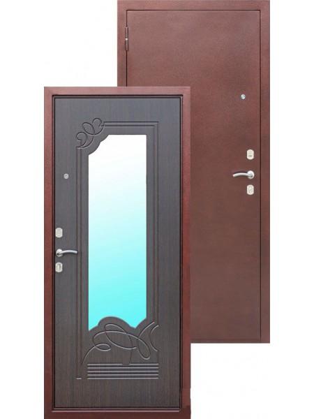 Входная дверь Ampir Венге / зеркало