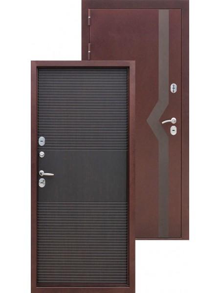 Входная дверь Izoterma 10 Медный антик Венге
