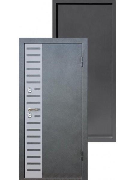 Входная дверь Izoterma серебро