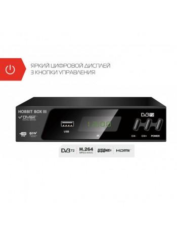 Приставка DVB-T2 HOBBIT BOX III для эфирного цифрового тв