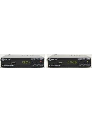 Цифровая эфирная приставка DColor DC1002HD